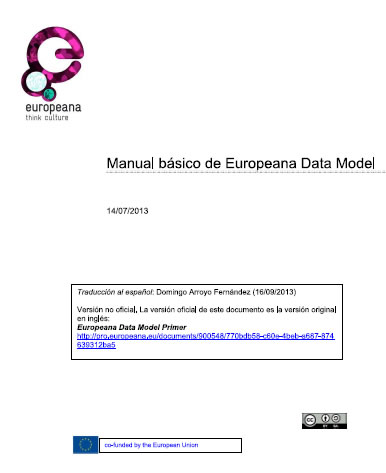 Manual básico de Europeana Data Model