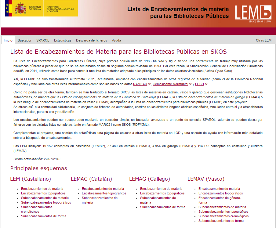 LEMB en Linked Open Data