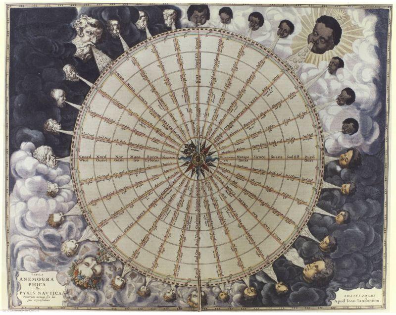 Deo Grooten Atlas, 1652. Biblioteca Virtual del Patrimonio Bibliográfico, dominio público